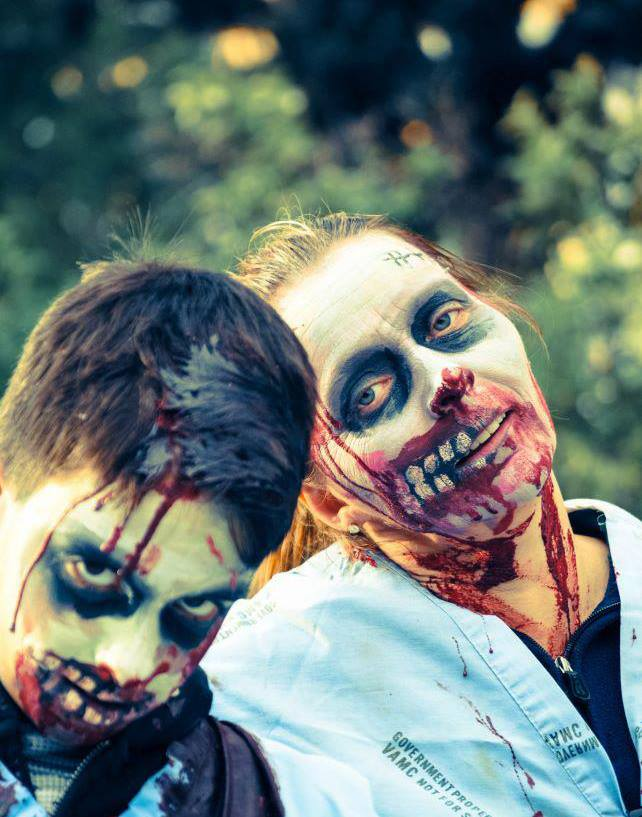 zombie thriller party 2014