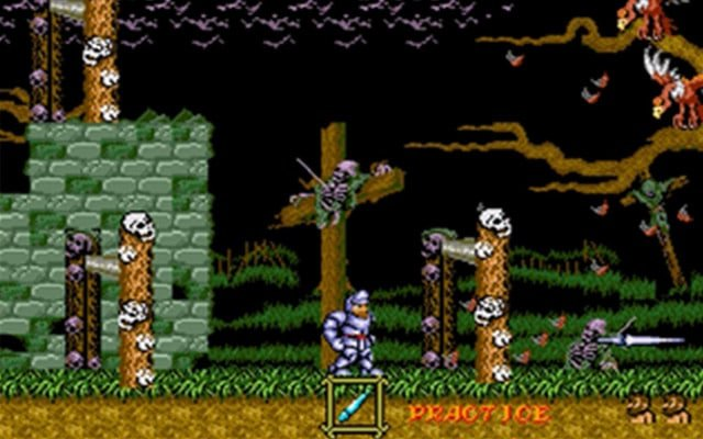 Ghosts N Goblins Mega Drive