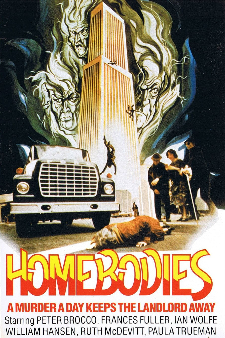 homebodies 1974 poster 2