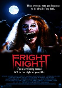 fright night 1985 poster 2