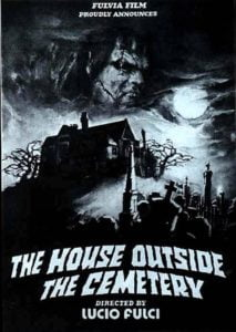 house cemetery 1981 poster 6