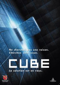 cube 1997 poster 3