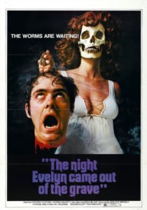 night evelyn came grave poster