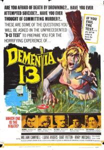dementia 13 poster