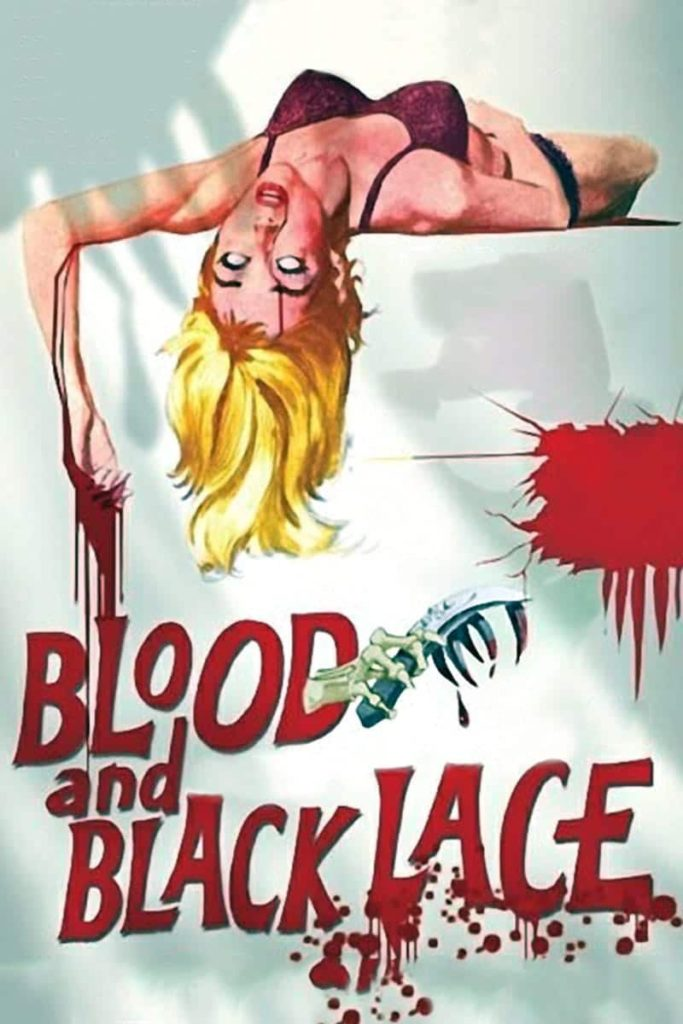 blood black lace dvd
