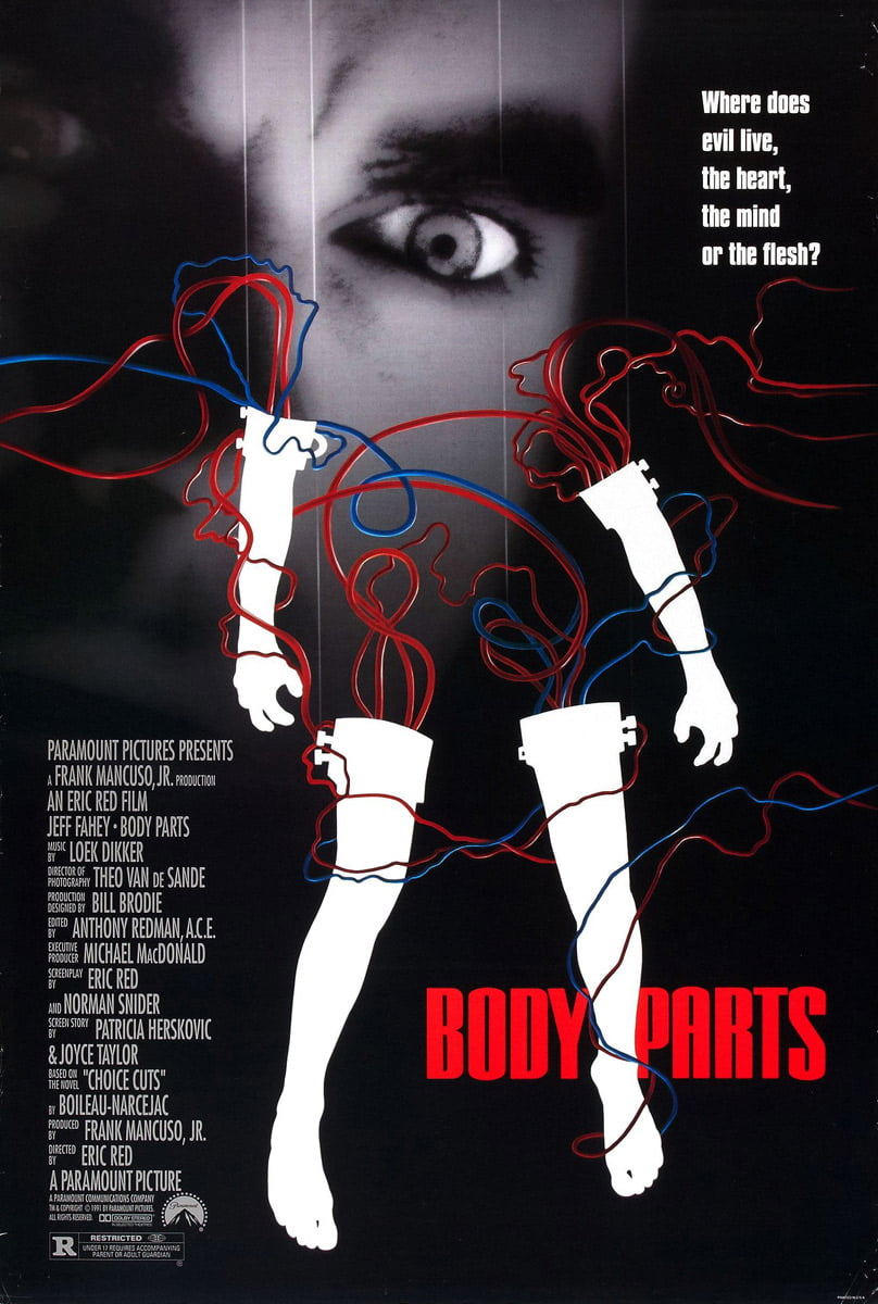 body parts dvd