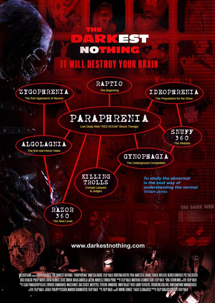 The Darkest Nothing - Paraphrenia Poster 04